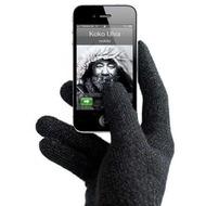 Mujjo Touchscreen-Handschuhe Gloves Unisex (kapazitiv) Gr��e M-L, schwarz