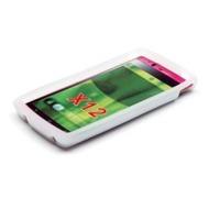 Silikonhülle für Sony Ericsson Xperia Arc, weiß