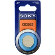 Sony Battery Sony MiniC CR2025 Lith. 3V