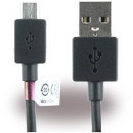 Sony EC801 /  EC803 - Micro USB Datenkabel - 1m, Schwarz