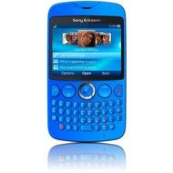 Sony Ericsson txt, blau