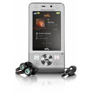 Sony Ericsson W910i, Silver