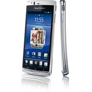 Sony Ericsson Xperia arc S, silber