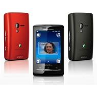Sony Ericsson XPERIA X10 mini, schwarz-rot