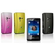 Sony Ericsson XPERIA X10 mini Cover Edition, schwarz-lime-pink
