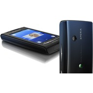 Sony Ericsson XPERIA X8, schwarz-blau