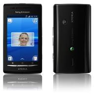 Sony Ericsson Xperia X8, schwarz