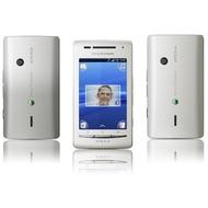 Sony Ericsson Xperia X8, weiß-silber