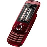 Sony Ericsson Zylo, nebula red