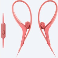 Sony MDR-AS410AP spritzwassergeschützter In-Ohr Sportkopfhörer, pink