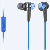 Sony MDR-XB50APB - Extra Bass Earbud Headset - blau