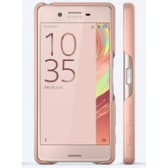 Sony Smart Style Cover für Xperia X Performance, Rosegold