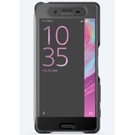 Sony Smart Style Cover Touch für Xperia XP - Schwarz
