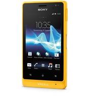 Sony Xperia go, gelb