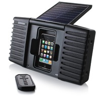 Soulra SP400 Solar-Soundsystem, schwarz