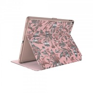 Speck HardCase Speck Balance Folio + Print iPad 9.7 (2017) w/ Magnet Lillymodern Rose Gold/ Crepe Pink/ Cathedral Green