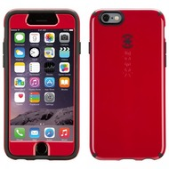 Speck HardCase CandyShell FacePlate für iPhone 6, rot/ schwarz