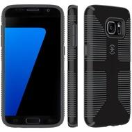 Speck HardCase CandyShell Grip für Samsung Galaxy S7, schwarz/ grau