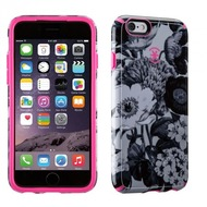 Speck HardCase CandyShell Inked für iPhone 6/ 6S, Blumenmuster, grau/ pink