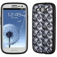 Speck HardCase FabShell ZikkyZak für Samsung Galaxy S3, grau