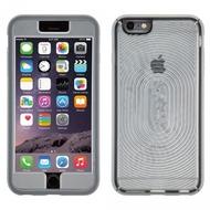 Speck HardCase MightyShell + Faceplate für iPhone 6 Plus, transparent/ grau