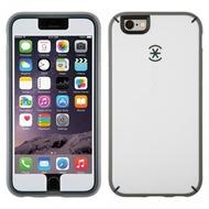 Speck HardCase MightyShell + Faceplate für iPhone 6, weiß/ grau