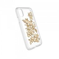 Speck HardCase Speck PRESIDIO iPhone (X) Clear/ Print - Shimmer Floral Metallic Yellow/ Clear