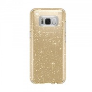 Speck HardCase Speck Presidio Samsung Galaxy S8 Clear with Gold Glitter/ Clear