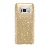 Speck HardCase Speck Presidio Samsung Galaxy S8 Plus Clear with Gold Glitter/ Clear
