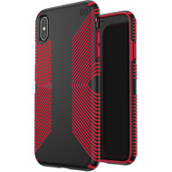 Speck Presidio Grip für iPhone XS Max Black/ Red
