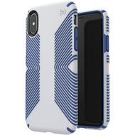 Speck Presidio Grip für iPhone XS/ X Grey/ Blue