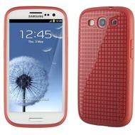 Speck SoftCase PixelSkin HD für Samsung Galaxy S3, rosa-rot