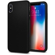 Spigen Case Liquid Air Matte Black for iPhone X matt black