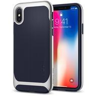 Spigen Case Neo Hybrid for iPhone X silver arctic