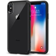Spigen Case Ultra Hybrid for iPhone X matt black