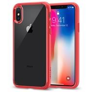 Spigen Case Ultra Hybrid for iPhone X red