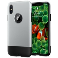 Spigen Clasic One for iPhone X aluminium