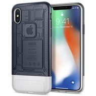 Spigen Classic C1 for iPhone X Graphite Gray