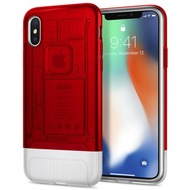 Spigen Classic C1 for iPhone X ruby