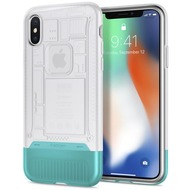 Spigen Classic C1 for iPhone X snow white