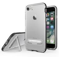 Spigen Crystal Hybrid for iPhone 7 schwarz