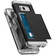 Spigen Crystal Wallet for Galaxy S8+ schwarz