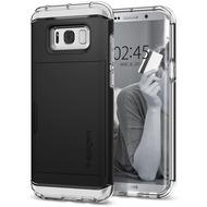 Spigen Crystal Wallet for Galaxy S8 schwarz
