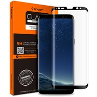 Spigen Glas tr. Full Cover for Galaxy S8 clear/ black