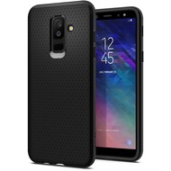 Spigen Liquid Air for Galaxy A6+ (2018) black