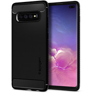 Spigen Rugged Armor for Galaxy S10+ matt black