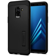 Spigen Slim Armor for Galaxy A8 (2018) black