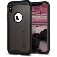 Spigen Slim Armor for iPhone XS Max gun metal