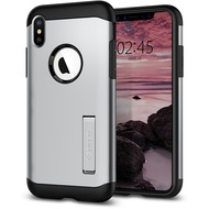Spigen Slim Armor for iPhone XS Max satin silver
