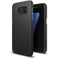Spigen Thin Fit for Galaxy S7 Edge schwarz